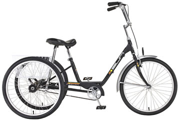 Sun Bicycles Traditional Trike Color: Black