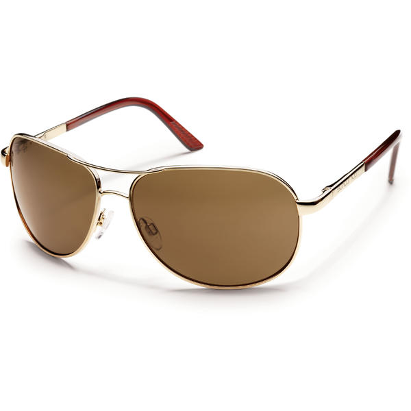 Suncloud Optics Aviator Color | Lens: Gold | Brown Polarized Polycarbonate