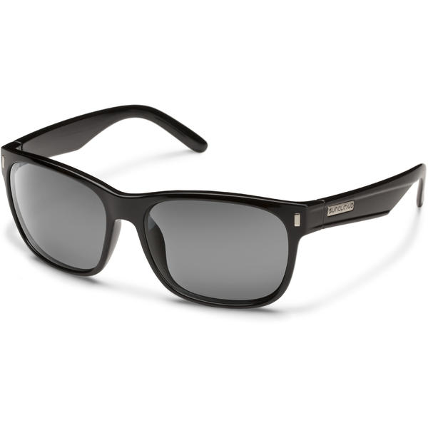 Suncloud Optics Dashboard Color | Lens: Black | Gray Polarized Polycarbonate