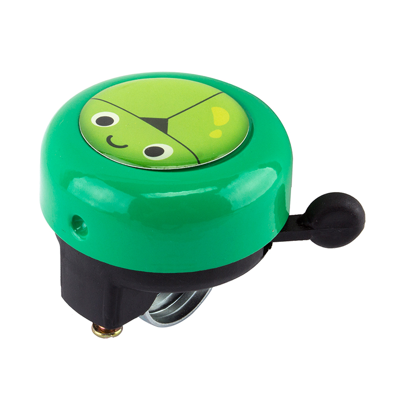 Sunlite 54mm Alloy Ringer Bell Color: Green Beetle