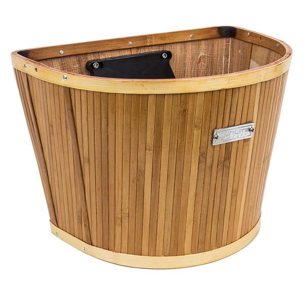 Sunlite Bamboo QR Basket