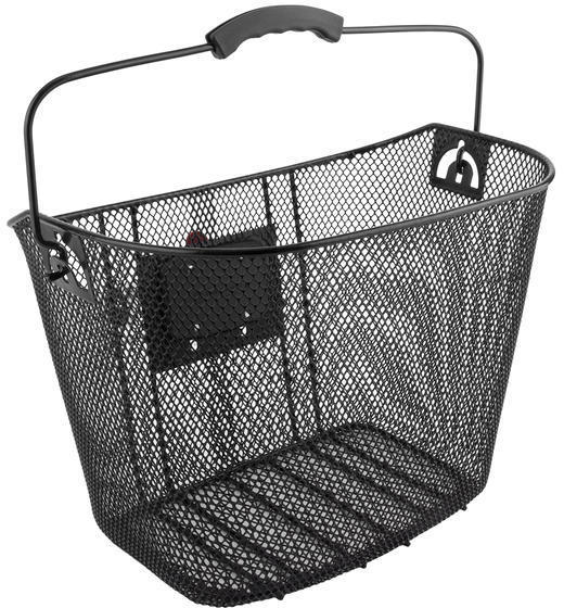 Sunlite Deluxe Quick Release Basket Color: Black