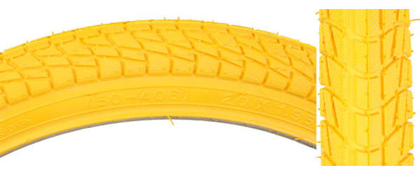 Sunlite Freestyle Kontact (20-inch) Color | Size: Yellow/Yellow | 20 x 1.95