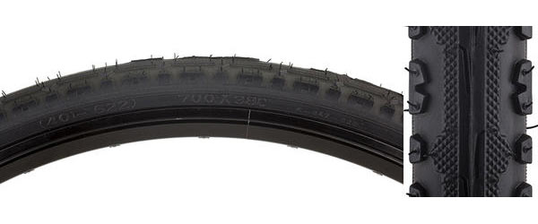 Sunlite Hybrid Kross Plus Tire Color | Size: Black/Black | 700 x 38c