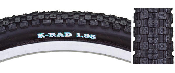 Sunlite K-Rad Tire Color: Black