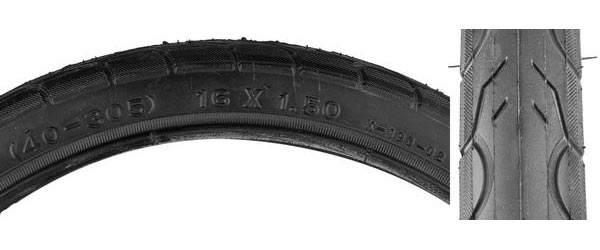 Sunlite Kwest Tire (16-inch) Color: Black
