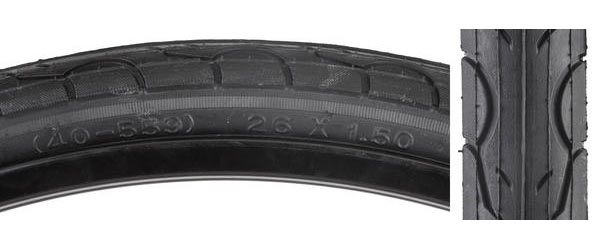 Sunlite Kwest Tire (26-inch) Color | Size: Black | 26 x 1.5
