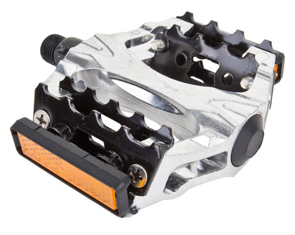 Sunlite Lock Jaw Pedals Color: Silver/Black