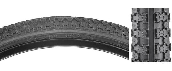 Sunlite MTB Raised Center Tire (26-inch) Color | Size: Black/Black | 26 x 1.75