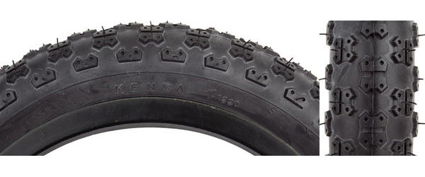 Sunlite MX3 Tire (12 1/2-inch) Color: Black/Black