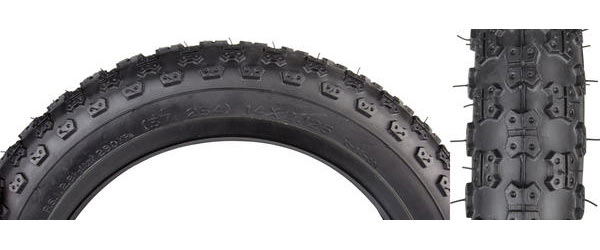 Sunlite MX3 Tire (14-inch) Color: Black/Black