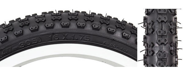 Sunlite MX3 Tire (16-inch) Color | Size: Black/Black | 16 x 1.75