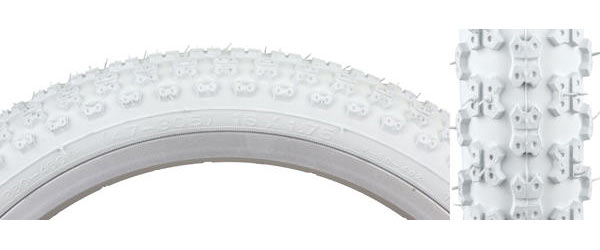 Sunlite MX3 Tire (16-inch) Color | Size: White/White | 16 x 1.75