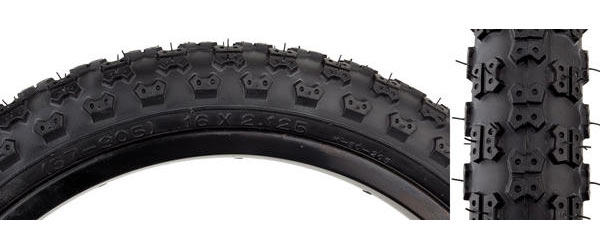 Sunlite MX3 Tire (16-inch) Color | Size: Black/Black | 16 x 2.125