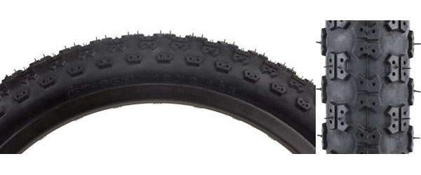 Sunlite MX3 Tire (18-inch) Color: Black/Black