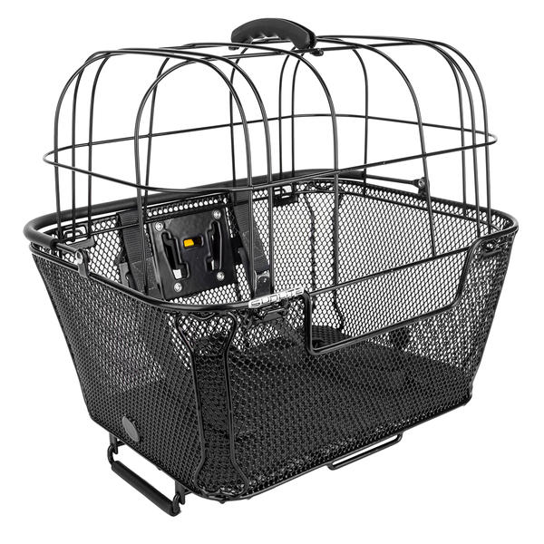 Sunlite RackTop/Handlebar QR Basket Color: Black