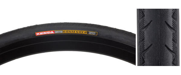 Sunlite Road Kontender Tire Color: Black/Black
