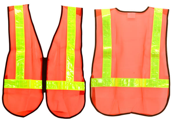Sunlite Safety Vest Color: Orange/Reflective Yellow