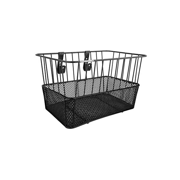 Sunlite Standard Deep Wire/Mesh Basket Color: Black