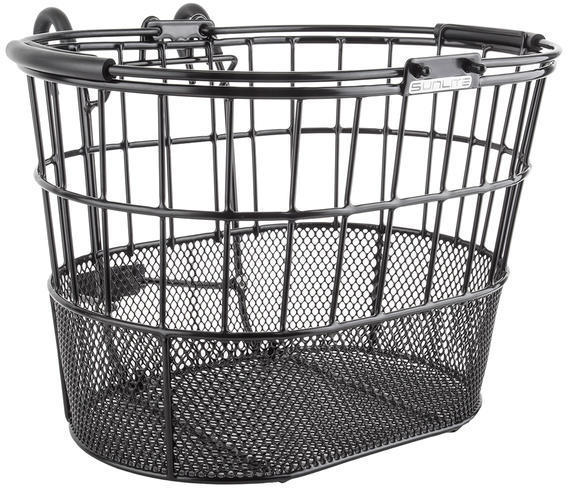 Sunlite Standard Oval Mesh Bottom Lift-Off Color: Black