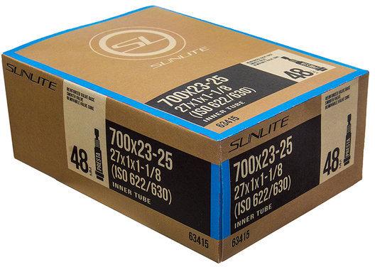 Sunlite Standard Presta Valve (48mm) Tube 700 x 23-25 (27 x 1-1 1/8)