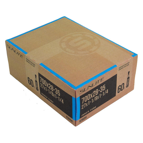 Sunlite Presta Valve (60mm) Tube 700 x 28-35 (27 x 1-1 1/8)