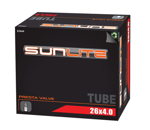 Sunlite Standard Presta Valve Tube 26 x 4.0