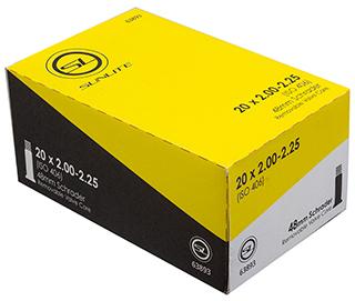 Sunlite Standard Schrader Valve 20-inch Tube