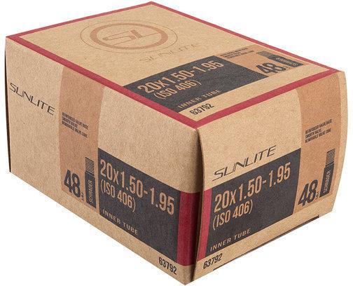 Sunlite Standard Schrader Valve Tube 20 x 1.5-1.95