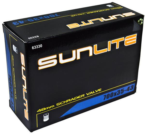 Sunlite Standard Schrader Valve Tube 700 x 35-43