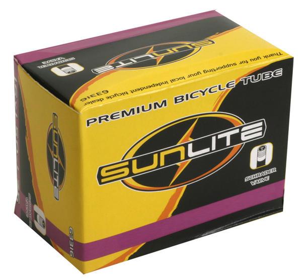 Sunlite Standard Schrader Valve Tube 16 x 1 3/8 (349 x 25)