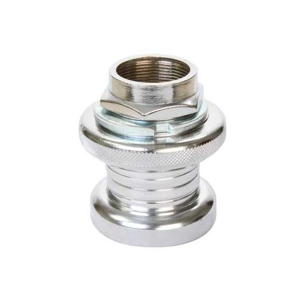 Sunlite Steel 1-inch Threaded Headset Color | Model | Size: Silver | Stack Height: 35 |Race Diameter: 27 | EC30/25.4-24tpi|EC30/27