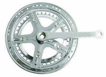 Sunlite Steel Double Crank Color: Silver