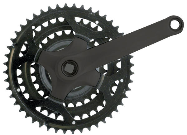 Sunlite Steel Triple Crank Color: Black