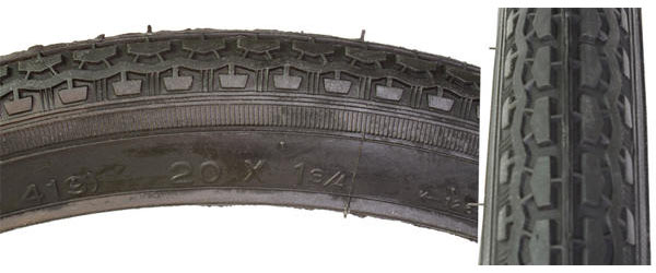 Sunlite Street S-7 Tire (20-inch) Color: Black