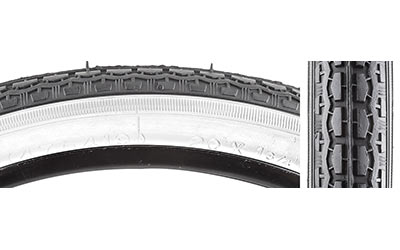 Sunlite Street S-7 Tire - 20 x 1-3/4-inch Color: Black/White