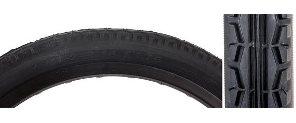 Sunlite Street Tire (18-inch) Color: Black