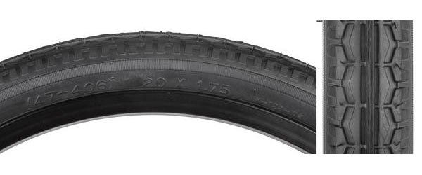 Sunlite Street Tire (20-inch) Color: Black/Black