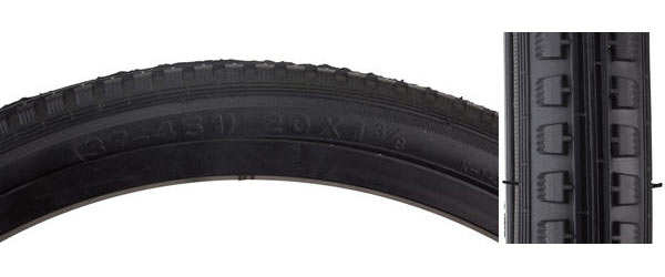 Sunlite Street Tire (20-inch, ISO 451) Color: Black