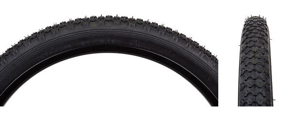 Sunlite Studded Knobby Tire (20-inch) Color: Black/Black