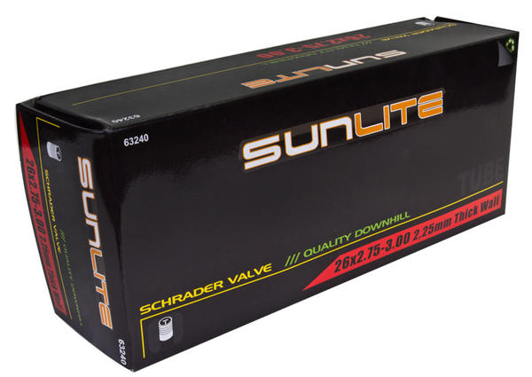 Sunlite Thick-Wall Schrader Valve Tube 26 x 2.75-3