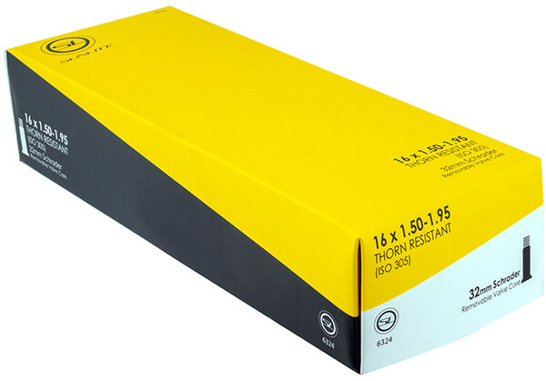 Sunlite Thorn-Resistant Schrader Valve Tube 16-inch