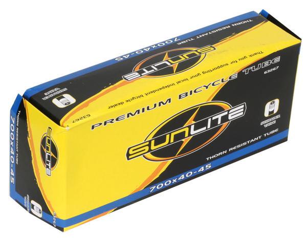 Sunlite Thorn-Resistant Schrader Valve Tube 700 x 40-45
