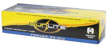 Sunlite Thorn-Resistant Schrader Valve Tube 700 x 20-25 (27 x 1)