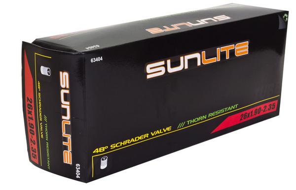 Sunlite Thorn-Resistant Schrader Valve Tube 26 x 1.9-2.35