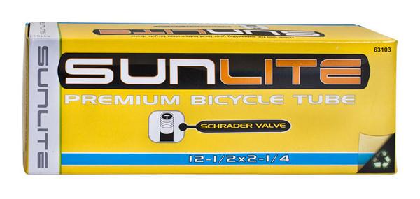 Sunlite Thorn-Resistant Schrader Valve Tube 12 1/2 x 2 1/4