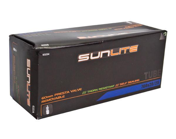 Sunlite Thorn-Resistant Self-Sealing Presta Valve Tube 700 x 20-25