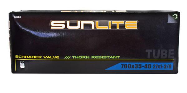 Sunlite Thorn-Resistant Schrader Valve Tube 700 x 35-40 (27 x 1 3/8)