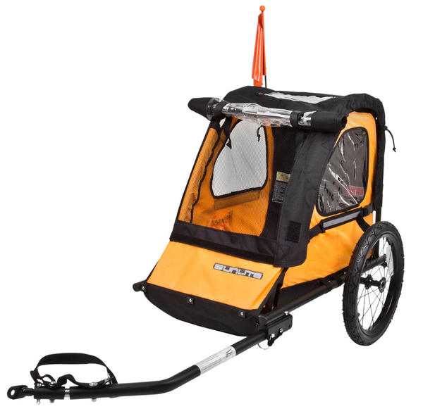 Sunlite Trailer Tot (Single Child) Color: Yellow/Black
