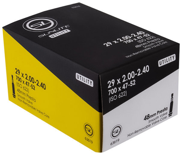 Sunlite Utili-T Standard Presta Valve Tube 29-inch